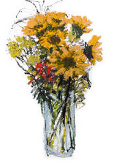 SUNFLOWERS, Catherine Young Bates