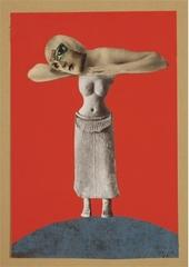Ohne Titel (Aus einem ethnographischen Museum) (Untitled [From an Ethnographic Museum]) , Hannah Hoch