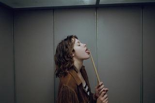 Charlotte in the mirror, P.J. van Sandwijk