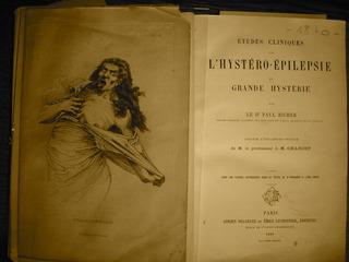 """L\'hystéro-épilepsie I (from the series, """"ANAGNOSIS OF HYSTERIA""""), Amphitheatre Charcot, Hôpital de la Pitié-Salpêtrière, Paris, France (detail), Gabriella Daris"""