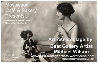 Dada Surrealist Art Assemblage, Michael Wilson