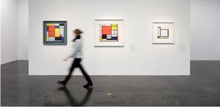 Installation view, Piet Mondrian