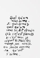 Lettre d\'Alex, from Les Amants du Pont-Neuf, Mekhitar Garabedian