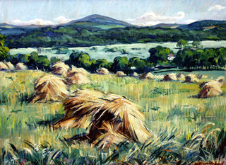 Arkansas Barley Fields, Louis Freund