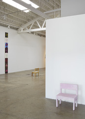 Installation view, Josh Atlas, Srijon Chowdhury