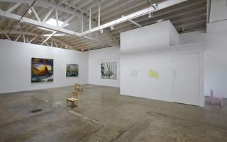 Installation view, Alexandra Wiesenfeld, Josh Atlas
