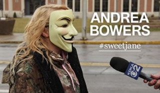 Anonymous demanding justice for a teen raped by members of the high school football team, Steubenville, OH, Andrea Bowers