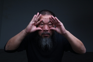 Portrait of Ai Wei Wei  ,