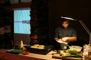 Post-Post-Apocalypse: Civilization - Marshall Preparing Okonomiyaki,Marshall Astor