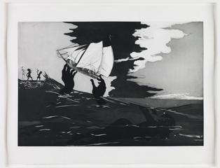 No world (from An Unpeopled Land in Uncharted Waters), Kara Walker