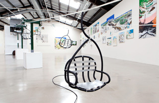 Installation view, Yutaka Sone, Benjamin Weissman