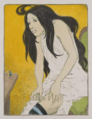 La Morphinomane [The Morphine Addict] , Eugène Grasset