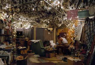 After 'Invisible Man' by Ralph Ellison, The Prologue , Jeff Wall