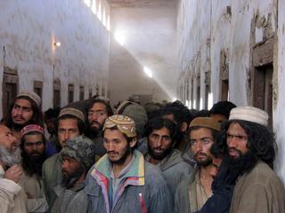 Taliban Prisoners, Afghanistan, 2001, Alan Chin