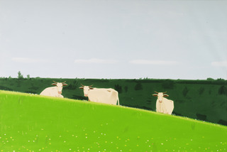 Three Cows, Alex Katz