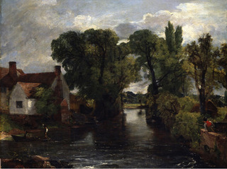The Millstream Willy Lotts House, John Constable