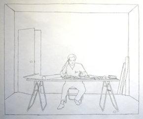At Work 1983, Ian Wallace