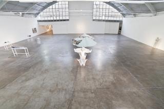 Installation view, Daniel Arsham