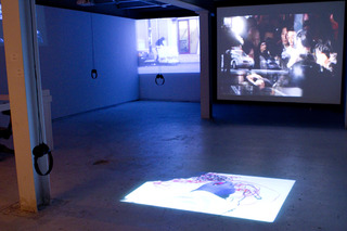 , Installation image of TIMECODE Exhibition