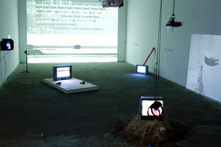 Installation image of TIMECODE Exhibition,