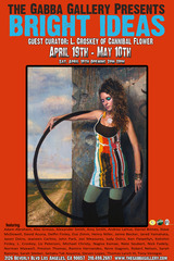 Hoola Hoop Girl, Daniel Bilmes (image on flyer)