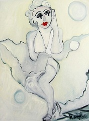 Marilyn in White, Eric Henty