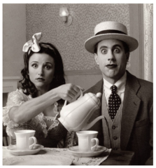 Jerry Seinfeld and Julia Louis-Dreyfus, Mark Seliger