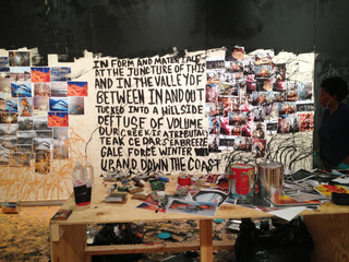 Underscore Installation Still Commissioned by The Aldrich Museum Of Contemporary Art, Xaviera Simmons