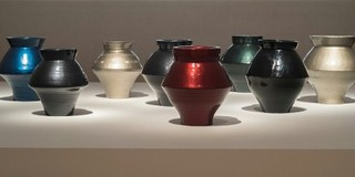 Han Dynasty Vases with Auto Paint  , Ai Weiwei