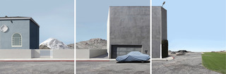 Landscape with Covered car, 2012, Lauren Marsolier