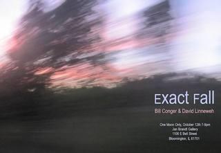 Exact Fall showcard, Bill Conger and David Linneweh