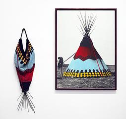 Painted Blackfoot, Elaine Reichek