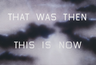 That Was Then This Is Now, Ed Ruscha