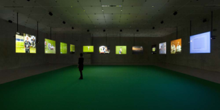 Deep Play, (Installation view, Greene Naftali, 2008), Harun Farocki