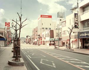 Street to the Main Station, Shimada City, 2007, Guido Castagnoli