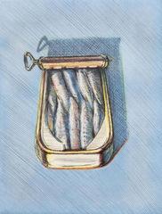 Sardines, Wayne Thiebaud