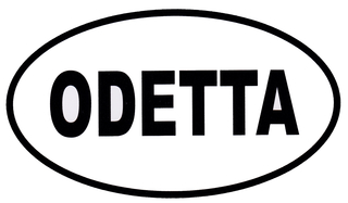 Odetta logo, contemporary art