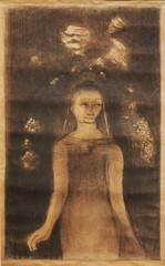 Femme (Jeune Femme debout), Odilon Redon
