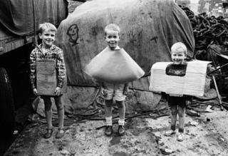 Drie jongetjes op de Snoekjesgracht, Ed van der Elsken