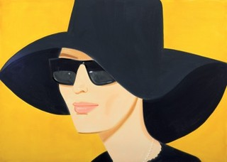 Black Hat #2, Alex Katz