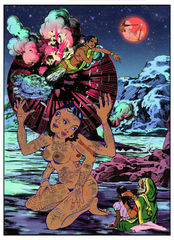 """Atlas"", Chitra Ganesh"