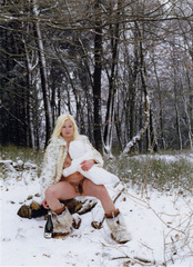 Neige (from the series Portrait of the Artist as a Young Mother),Katharina Bosse