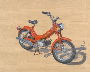1976 TOMOS A3 Moped, Catherine Kaleel