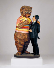 Bear and Policeman, Jeff Koons