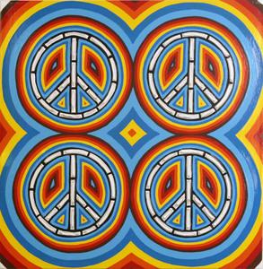 _four_peace_blue_20_x_20
