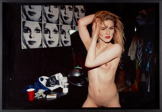 Cody in the Dressing Room at the Boy Bar, NYC, Nan Goldin