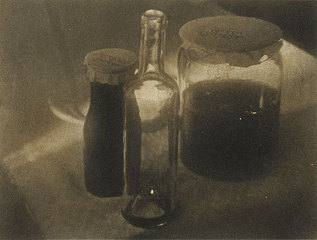 Untitled (Still life with glasses), Heinrich Kuhn