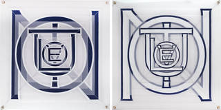 Evolution (diptych), Joe Amrhein