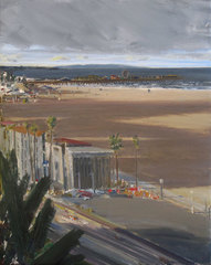 View of the Coast- Santa Monica, Larry Cohen