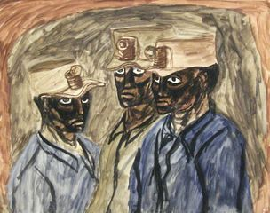 Three Miners (West Virginia), Axel Horn
